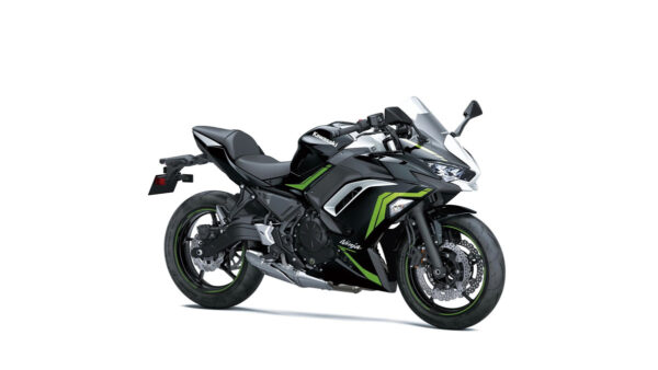 CocMotors – Kawasaki Ninja 650 Metallic Spark Black : Pearl Blizzard White