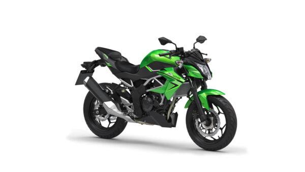 CocMotors – Kawasaki Z125 2021 lime green