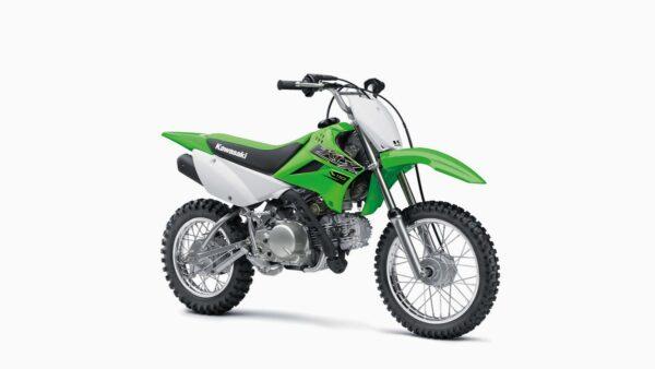 CocMotors-Kawaski-KLX110Front