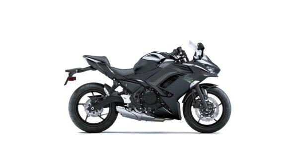 CocMotors – kawasaki Ninja 650 Metallic Spark Black side Il