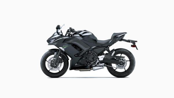 CocMotors – kawasaki Ninja 650 Metallic Spark Black side l